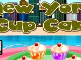 jeux New york cup cake